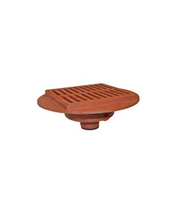 """Wade 2905 6"""" x 12"""" Light Duty, Decorative Trench Grating"""