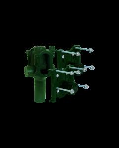Josam 12724 Carrier - On Stack Vertical Back-to-Back Double Adjustable No-Hub