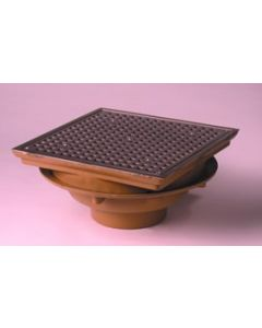 "Smith 1410 Large 14"" Deck Drain"