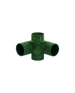 Josam 15984 Carrier - 90 Degree Double Waste Fitting Only, No-Hub