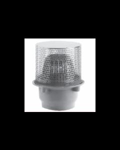 "Smith 1940 8 1/2"" Diameter Planter Drain with Low Profile Dome"
