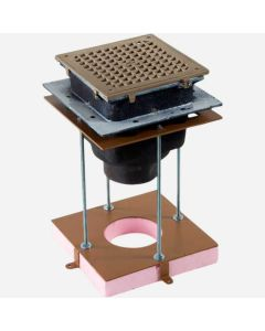 """Smith 3038-DID Formit® Drain Installation Device for 8 1/2"""" Square Enameled Floor Sink"""