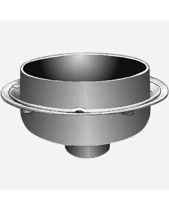 Smith 3980 Roof- Ceptor Indirect Waste Drains, Medium Depth Receptors