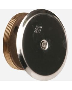 Smith 4472 Taper Thread Plug with Round Cover
