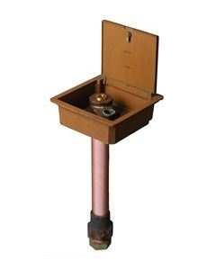 "Smith 5814, 2"" Inlet, Non-Freeze Boxed Ground Hydrant"