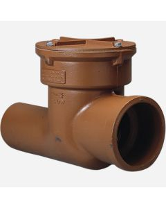 Smith 7022 Sewer Valve with Threaded Cover