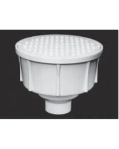 "2"" Round Floor Sink With Aluminum Beehive Strainer"