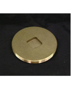 Brass Recessed Head Cleanout Plug