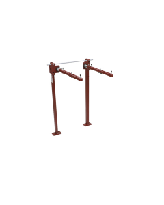MIFAB MC-42 Fixture Carrier with Concealed Arms for ADA Lavatories