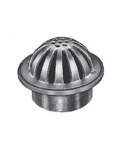 Smith Suffix G Adjustable Strainer with Round Low Dome Grate