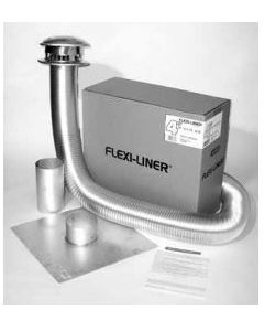 Gas Appliance Chimney Liner Basic Kit