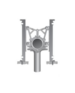 MIFAB MC-15-HS Fixed Vertical Hub & Spigot Water Closet Carrier Offset from Stack