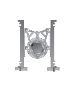 MIFAB MC-21 Compact Rear Outlet Water Closet Carrier