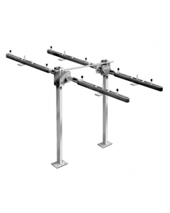 MIFAB MC-42D Back To Back Fixture Carrier with Concealed Arms for  ADA Lavatories