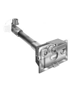 MIFAB MHY-25 Non-Freeze Encased Wall Hydrant with Self Draining Vacuum Breaker