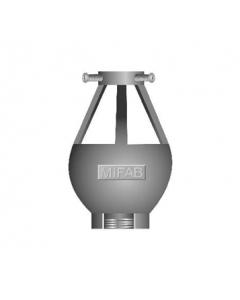 MIFAB MI-CAG Cast Iron Fixed Air Gap