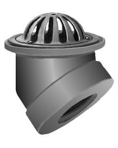 Smith 1650 Low Dome Bottom Outlet Gutter Drain