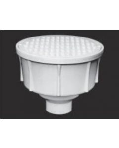 "3"" Round Floor Sink With Secondary Strainer"