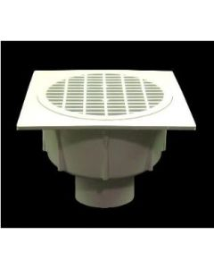 "4"" Floor Sink With Secondary Strainer"