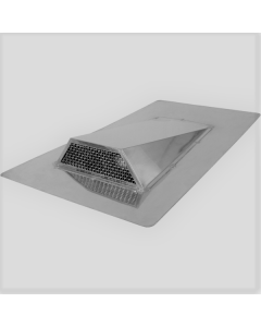 Stainless Steel Low Profile Roof Exhaust Vent