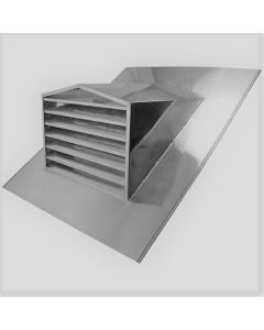 Stainless Steel Peak Top Dormer Vent