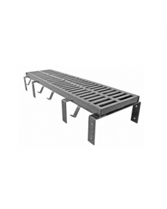 """MIFAB T1200-(F) 12"""" x 24"""" Trench Drain Grate with Optional """"F"""" Angle Frame"""