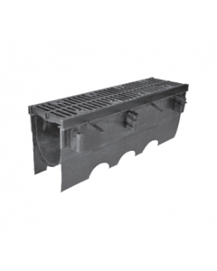 """MIFAB T2000 12"""" Wide Polypropylene Trench Drain System"""