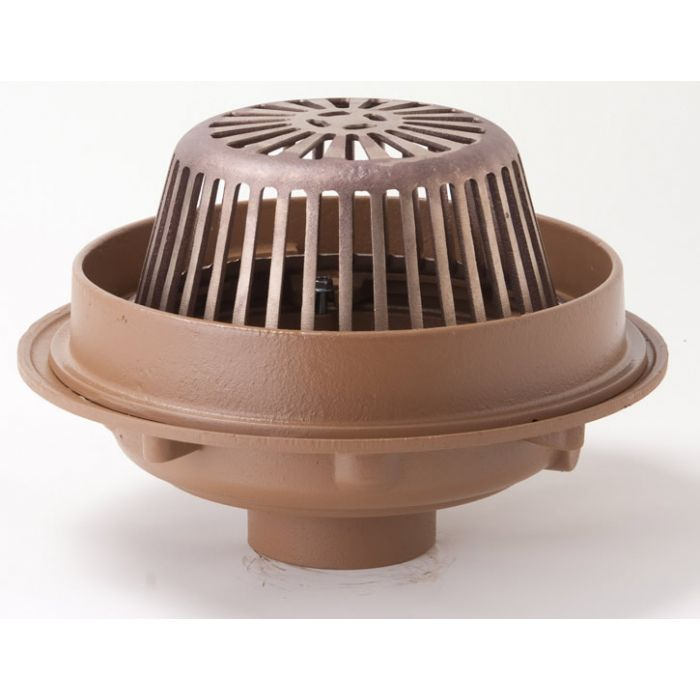 Smith 1080 Roof Drain Complete Drain Assembly Standard Complete Roof Drains