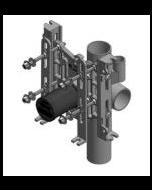 Wade 330HD-A2 Vertical, Adjustable Water Closet Support - No-Hub (500Lb. Rating)