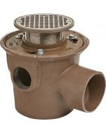 Smith 2095 Multi-Inlet Adjustable Floor Drain with Trap