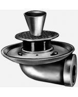Smith 3515-F11 Funnel-Ceptor Indirect Waste Drains with Adjustable Strainer Head