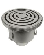 Josam 42550 Series Non-Adjustable Stainless Steel (304) Floor Drain