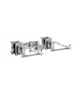 MIFAB MC-55 Exposed Arms with Adjustable Surface Plate & Back Mounting Plates