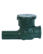 Josam 67500 Backwater Valve - Swing-Check Type with Bolted Cover, Hub & Spigot Connection