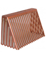 Copper Parapet Dome Strainer