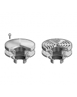"MIFAB F1640 Dual 9"" Adjustable Drain Set"